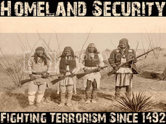 department of homeland security native american