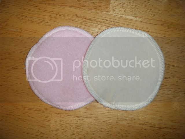 Nursing Pads - Bamboo Velour w/Polyester Fleece