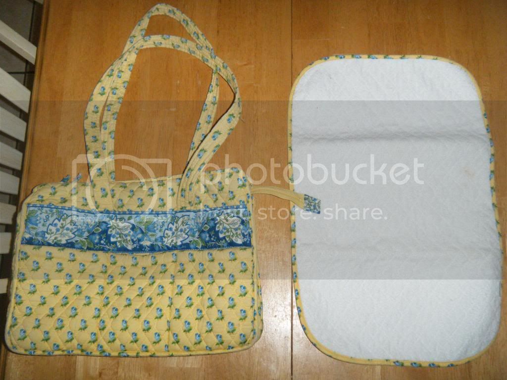 Used Vera Bradley Diaper Bag - Katherine