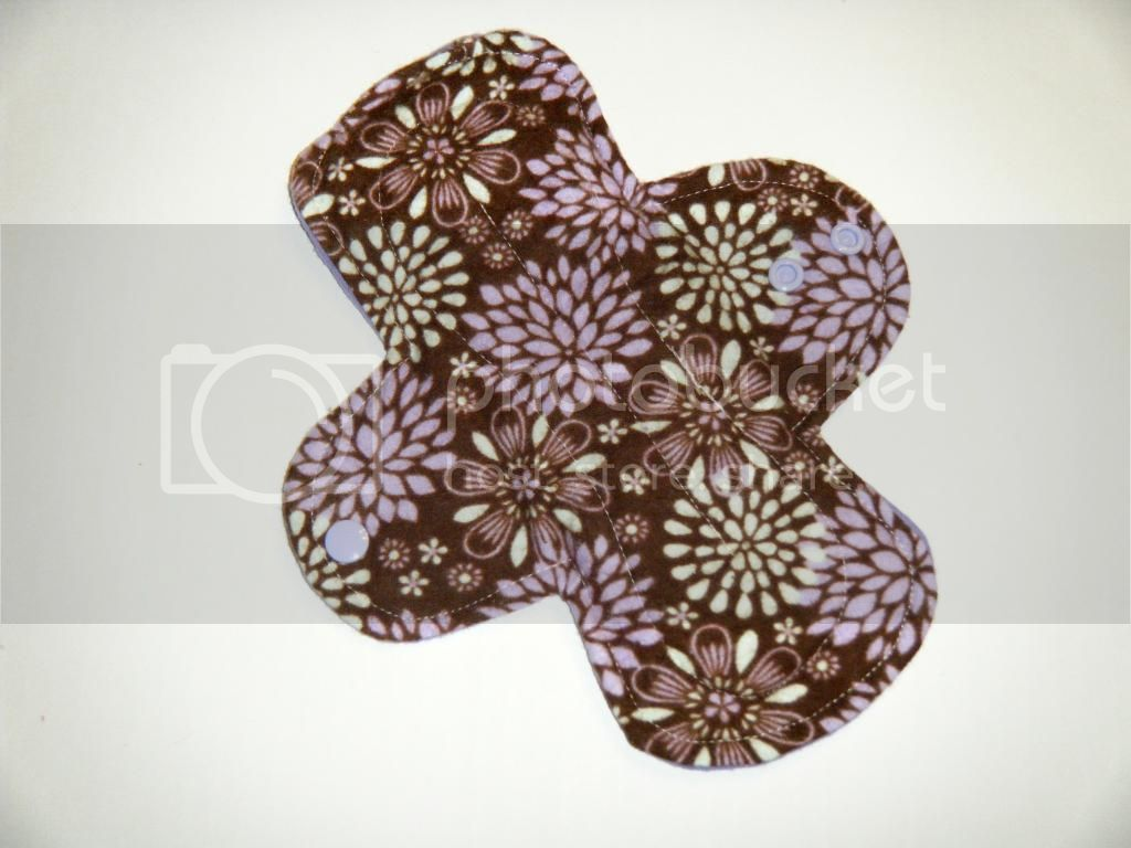 9.5&quot; Regular Cloth Pads - Mums Flannel