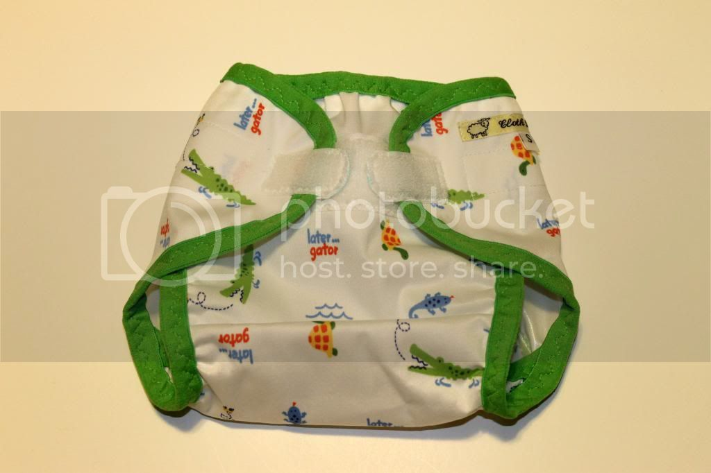 Instock PUL Cloth Diaper Cover - Later Gator - Size Small
