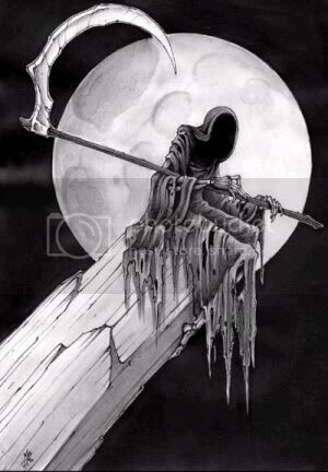 Grey Grey Grim Reaper Pictures, Images and Photos